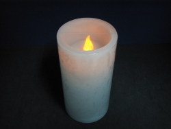 Real Wax Pillar Candle Light(Blowable)